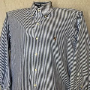 Polo Ralph Lauren Yarmouth Dress Shirt Men's Navy
